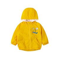 Bornbay 贝贝怡 204S2548 男童加绒外套 黄色 120cm