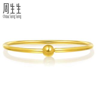 Chow Sang Sang 周生生 90194K 女士足金光面手镯 计价 06圈 - 11.96克(含工费380元)