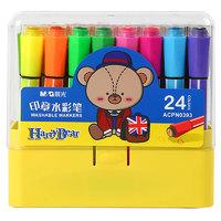 M&G 晨光 小熊哈里系列 印章水彩笔