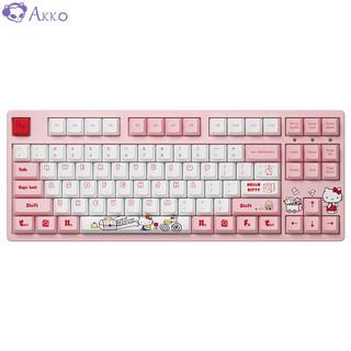Akko 艾酷 3087 Hello Kitty合作款 机械键盘 87键