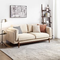 原始原素 S1021 现代小户型羽绒沙发 210*88*92cm
