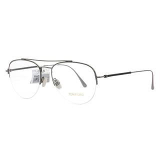 【直营】Tom Ford半框飞行员近视镜 金属镜架 镜框 男女款5656(TF5656 028)