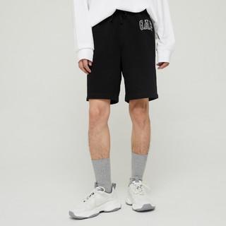 Gap 盖璞 Gap男装LOGO舒适卫裤薄款休闲裤589665 夏季新款运动短裤