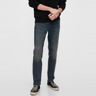 604082MEDIUM DARK TINT 男士牛仔裤