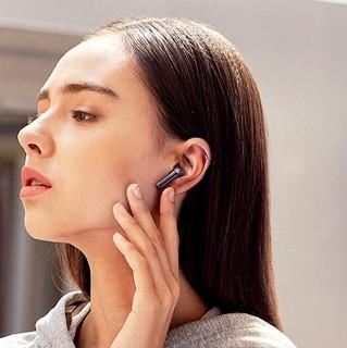 SoundPEATS 泥炭 TrueAir2+ 无线充版 半入耳式真无线动圈蓝牙耳机 黑色