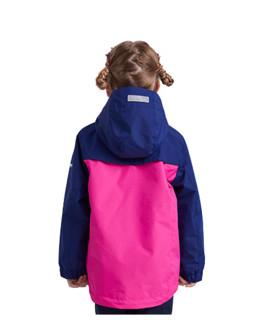 NORTHLAND 诺诗兰 儿童冲锋衣 玫紫色 90
