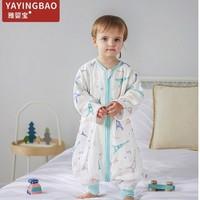 雅婴宝 婴儿短袖2层纱布睡袋