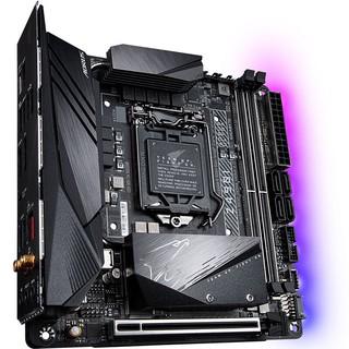 GIGABYTE 技嘉 Z490I AORUS ULTRA MINI-ITX主板(Intel LGA1200 Z490)+酷睿i7-10700K 主板CPU套装