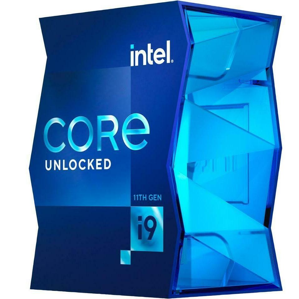 intel 英特尔 Core i9-11900K 11代i9系列 8核心 处理器