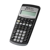 Texas Instruments 德州仪器 BA II PLUS 函数金融计算器 黑色