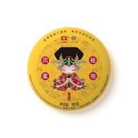 TAETEA 大益 凤凰格格 普洱熟茶 100g