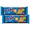 趣多多 缤纷豆曲奇饼干 巧克力味 85g*2袋