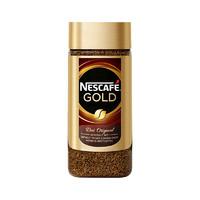 Nestlé 雀巢 瑞士进口Nestle雀巢金牌速溶咖啡黑咖啡研磨原味 100g/瓶 雀巢金牌研磨咖啡100g