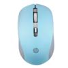 HP 惠普 S1000plus 有线鼠标 1600DPI 天青色