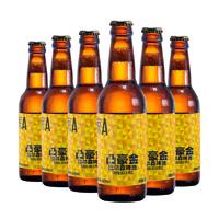 PLUS会员:京A 凸豪金比尔森精酿啤酒 330ml*6瓶