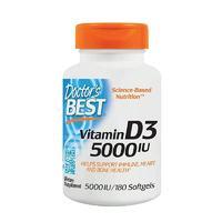 黑卡会员:Doctor's BEST 维生素D3 180粒