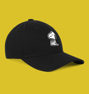 GXG x PEANUTS史努比联名 GB154154E 鸭舌帽