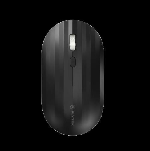 iFLYTEK 科大讯飞 M110 2.4G蓝牙 双模无线鼠标 1600DPI 石墨黑