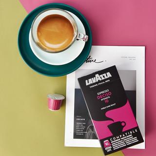 LAVAZZA 拉瓦萨 NCC胶囊咖啡 10号特浓深烘 兼容nespresso 10粒装