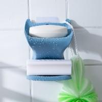 GREEN SOURCE 绿之源 免打孔双层香皂盒