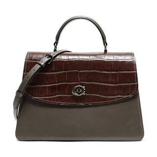 COACH 蔻驰 奢侈品 女士PARKER系列皮革手提包单肩包 69437