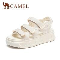 PLUS会员:CAMEL 骆驼 A125256192 女士凉鞋