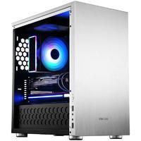 JONSBO 乔思伯 C3-PLUS MATX机箱 半侧透 银色