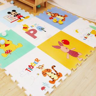 Disney 迪士尼 迪士尼宝宝爬行婴儿拼接爬爬垫拼图防滑地垫游戏毯加厚