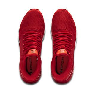 UNDER ARMOUR 安德玛 Charged Vantage 男子跑鞋 3023550-601 红色 43