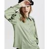 ONLY 120105520 雪纺宽松设计感长袖衬衫