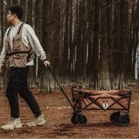 MOBI GARDEN 牧高笛 ×布朗熊 联名款 NX20671010 户外折叠营地车