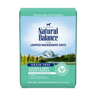 Natural Balance 天衡宝 NATURAL BALANCE天衡宝雪山低敏甜薯鸡肉配方成犬粮