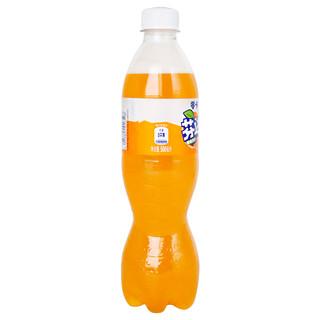 可口可乐 芬达零卡500ml*12瓶装整箱 橙味汽水无糖 碳酸饮料