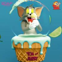 SOAP STUDIO 《猫和老鼠》TOM猫 冰淇淋水晶球