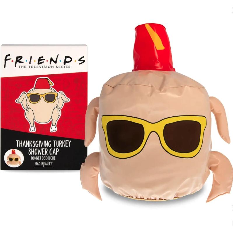 Friends 感恩节火鸡浴帽*3
