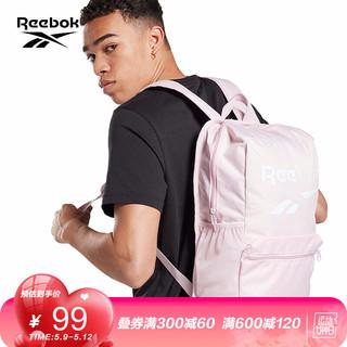 Reebok 锐步 Reebok锐步 运动健身TE M BCKPCK 男女双肩包 GJG18 FL5182_粉色 N SZ