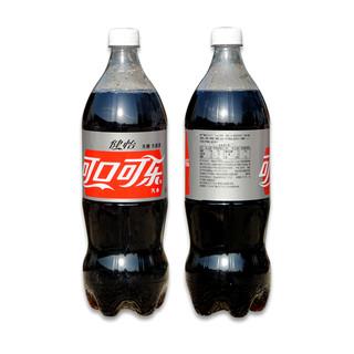 可口可乐 健怡可乐1.25L*12瓶装一大整无糖无热量碳酸汽水饮料家庭