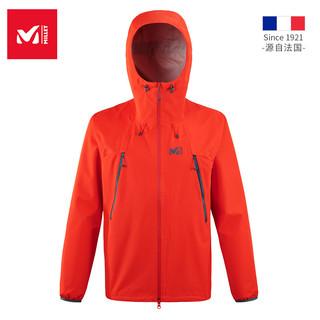 法国觅乐MILLET2.5层防风冲锋衣男女防水透气登山服外套MIV8263