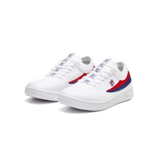 FILA 斐乐 斐乐女鞋女款运动休闲专业舒适乒乓球鞋羽毛球鞋网球鞋小白鞋女