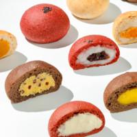 cakeperi 全麦软欧包 6种口味可选 6个共600g