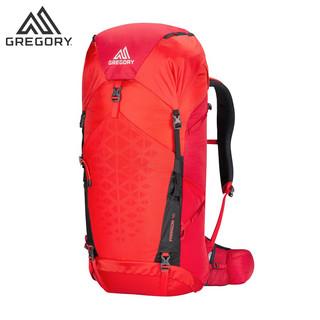 Gregory格里高利PARAGON双肩登山包户外旅行背包男徒步旅行双肩包(48升、柑橘红色(M/L))