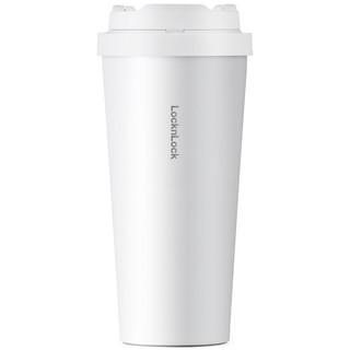 LOCK&LOCK 乐扣乐扣 遇见元气弹跳咖啡杯 LHC3249WHT 白色 550ml