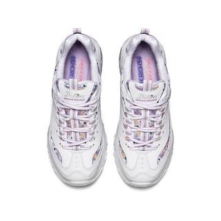 Skechers斯凯奇新款女鞋厚底显高显瘦气质老爹鞋熊猫鞋休闲运动鞋