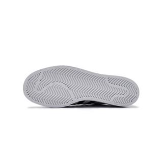 【直营】Adidas阿迪达斯三叶草潮人同款金标贝壳头情侣板鞋FU7712