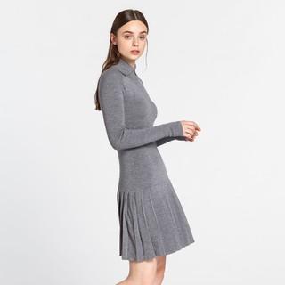 COLOR灰色 女式连衣裙