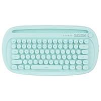 FOETOR 富德 k510d 80键 蓝牙双模无线薄膜键盘