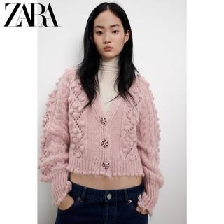 ZARA 05802127644 女士珠宝纽扣饰针织衫