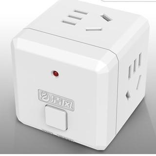 kyfen 清风 Kyfen 清风 无USB带开关插座转换器