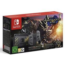 Nintendo 任天堂  欧版 Switch游戏主机 续航增强版 怪物猎人崛起限定版(游戏无中文)