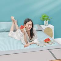 每晚深睡 可水洗冰丝软凉席三件套 1.5m床